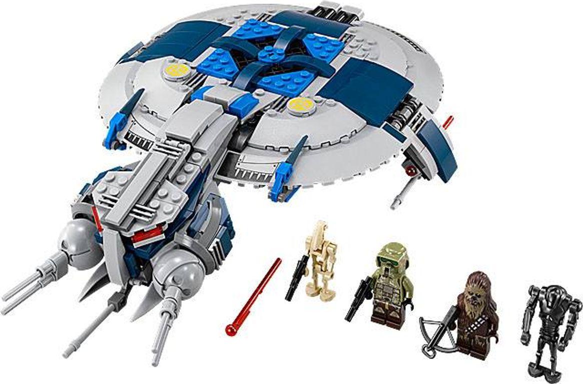 LEGO® Star Wars Droid Gunship components