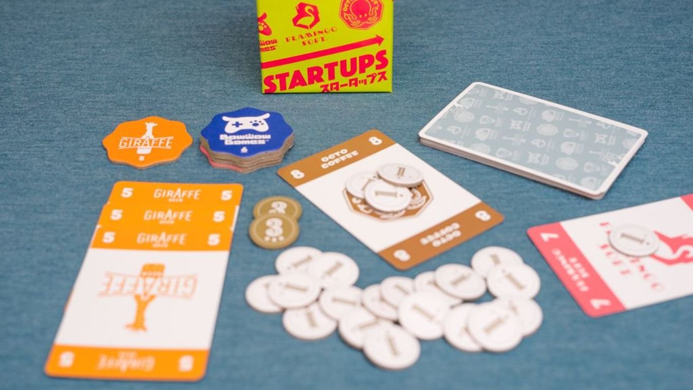 Startups components