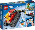 LEGO® City Snow Groomer back of the box