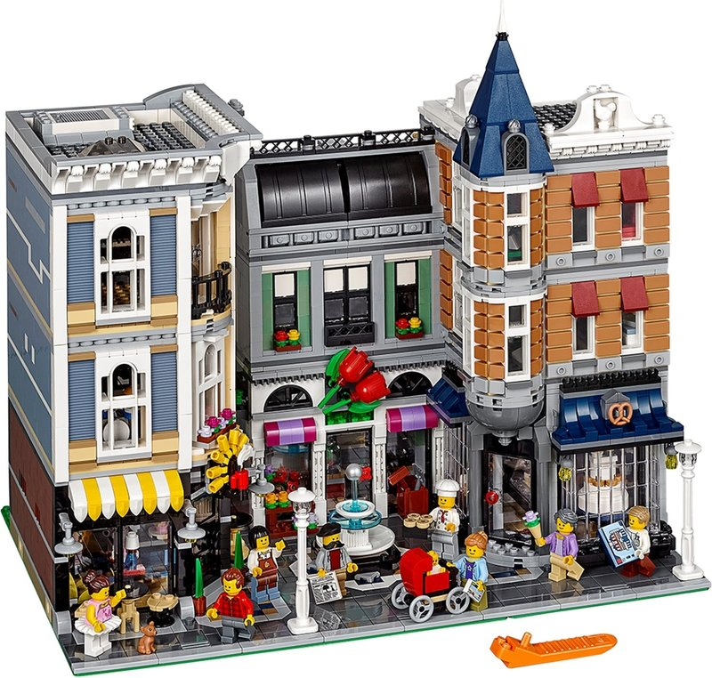 LEGO® Creator Expert Assembly Square components
