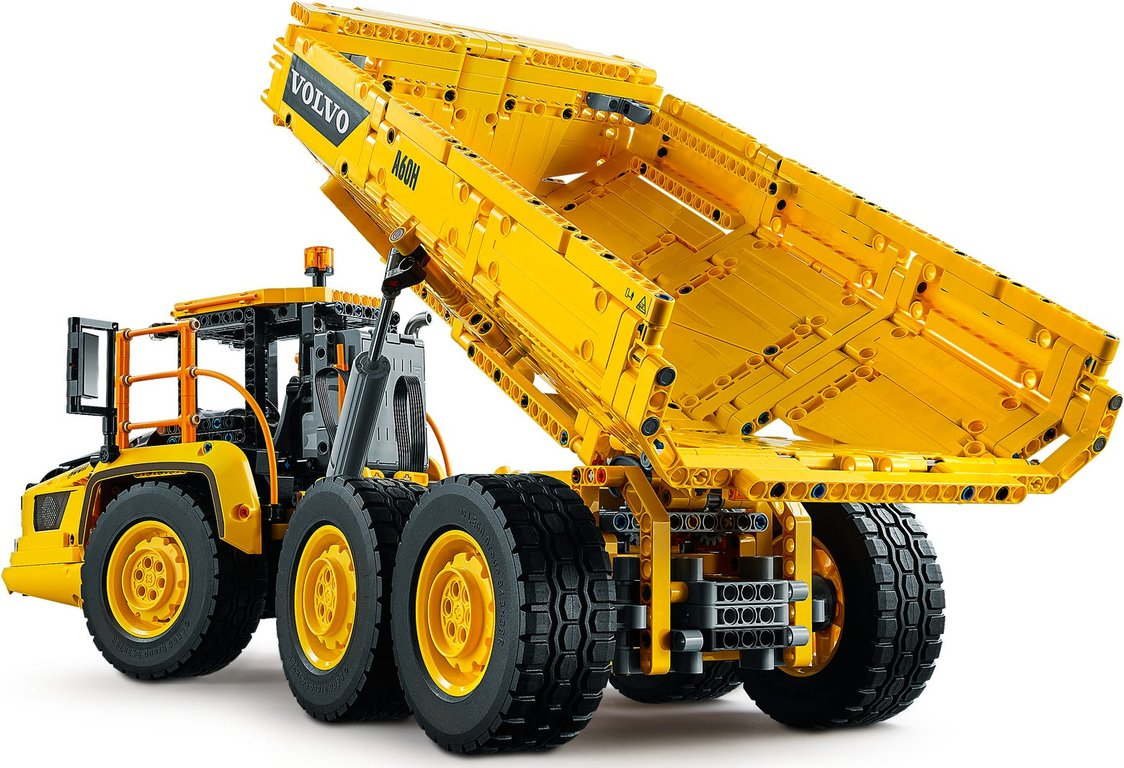LEGO® Technic 6x6 Volvo Articulated Hauler back side