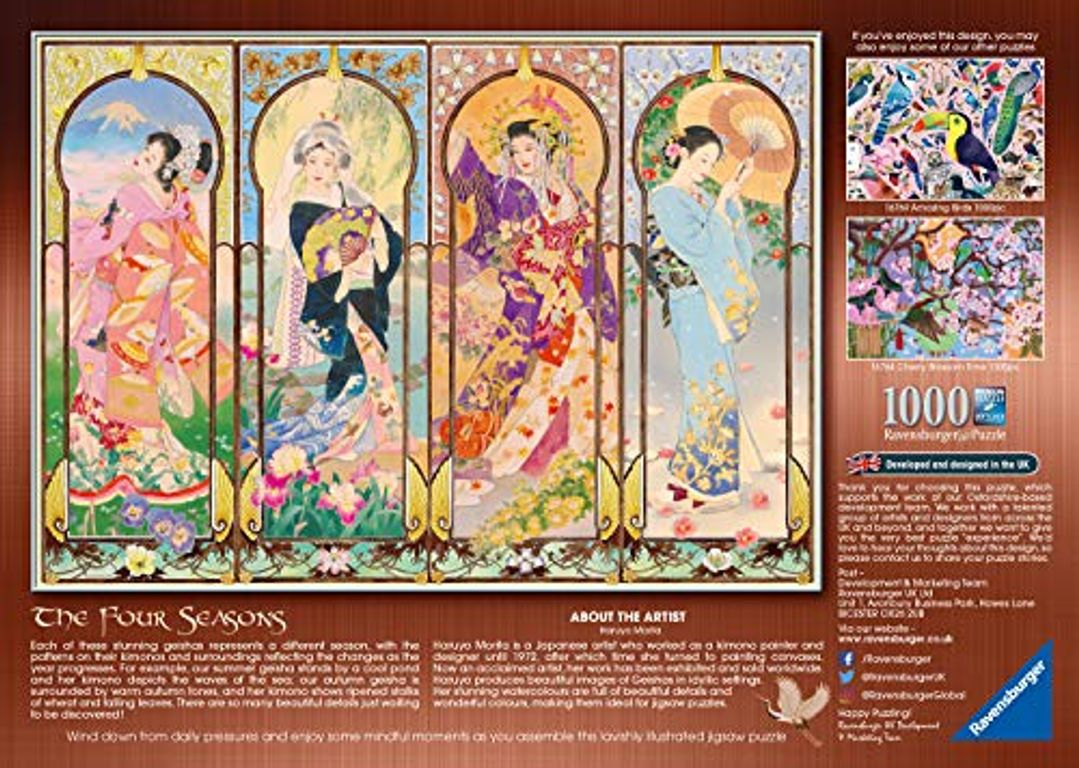 Four Seasons back of the box