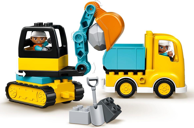 LEGO® DUPLO® Truck & Tracked Excavator components