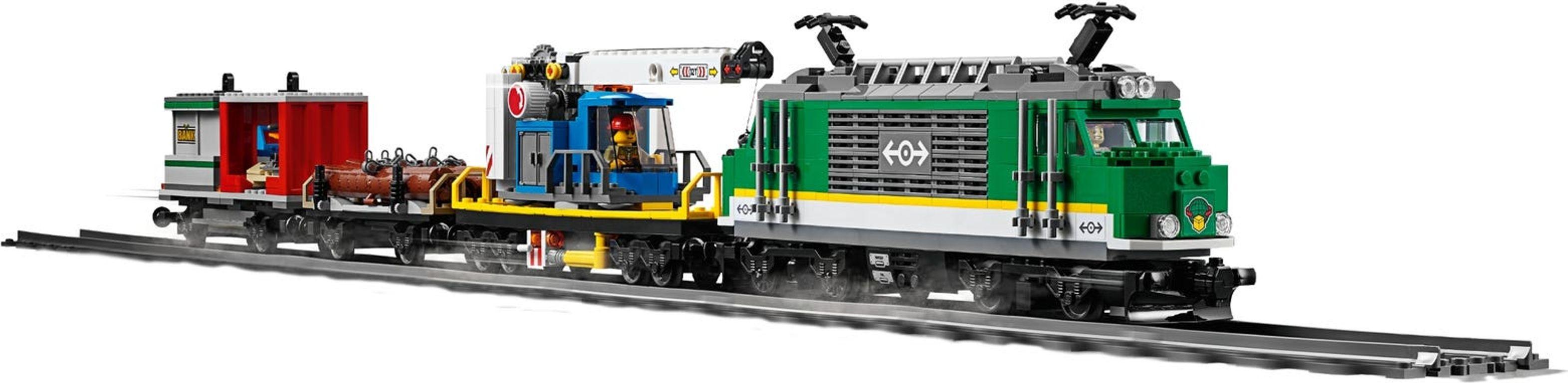 LEGO® City Cargo Train components