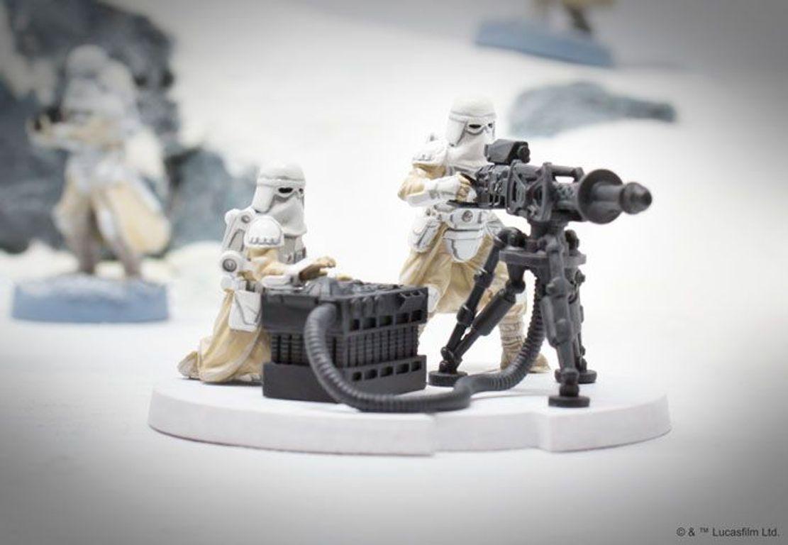 Star Wars: Legion – E-Web Heavy Blaster Team Unit Expansion miniatures