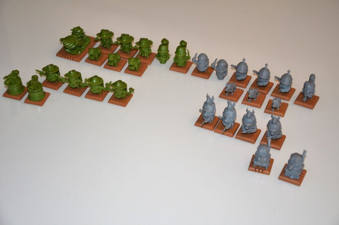 Rivet Wars: Spearhead miniatures
