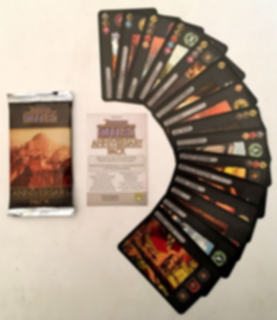 7 Wonders: Cities Anniversary Pack components