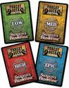 Shadows of Brimstone: Swamps of Death cards