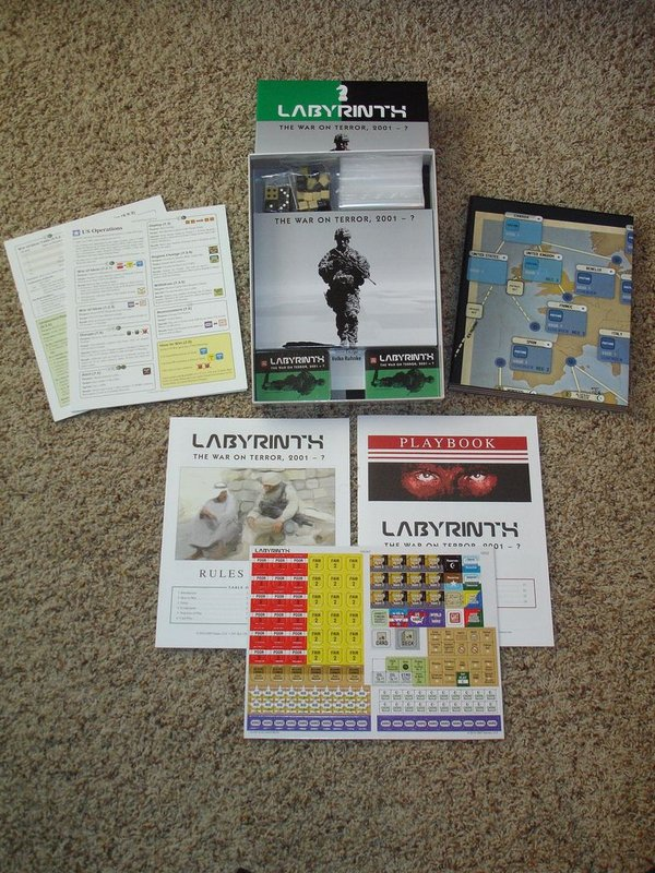 Labyrinth: The War on Terror, 2001 - ? components
