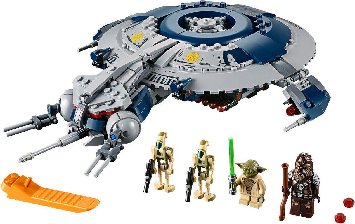 LEGO® Star Wars Droid Gunship™ components