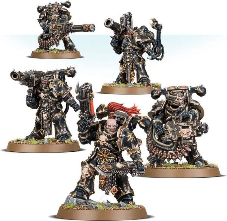 Chaos Space Marines Havocs (43-61) miniatures