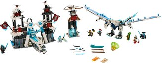 LEGO® Ninjago Castle of the Forsaken Emperor components