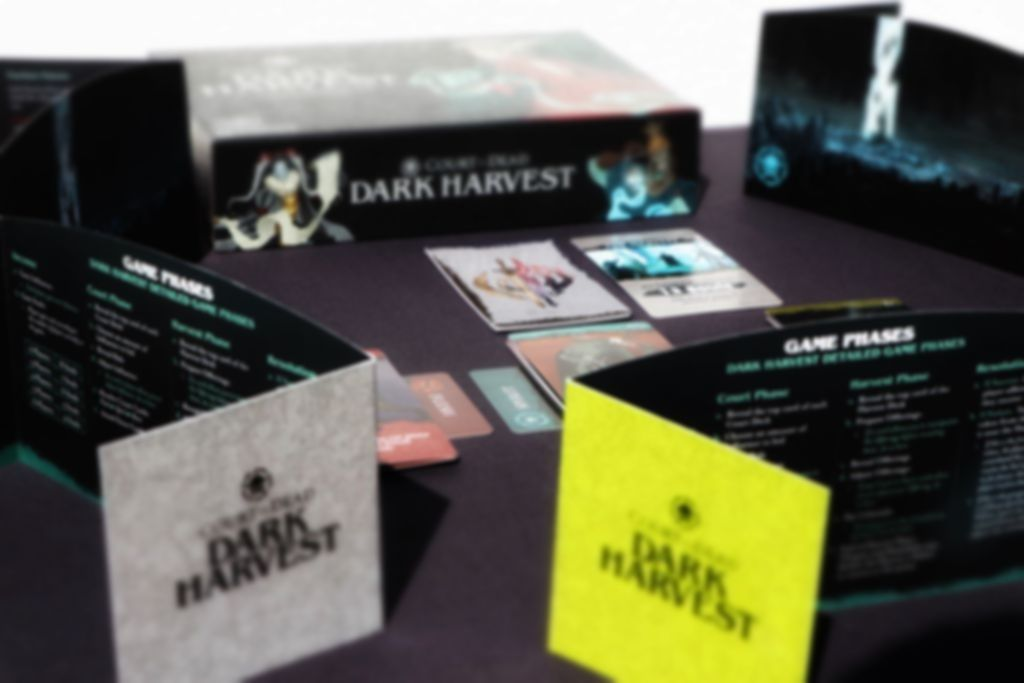 Court of the Dead: Dark Harvest components