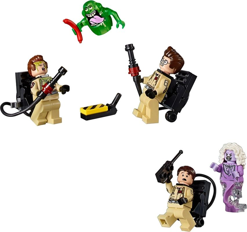 Firehouse Headquarters minifigures