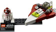 LEGO® Star Wars Jedi Starfighter & Planet Kamino components