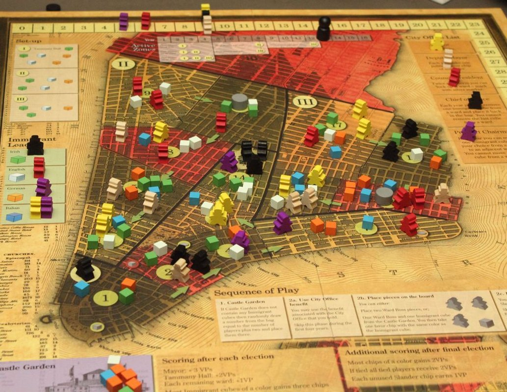 Tammany Hall gameplay