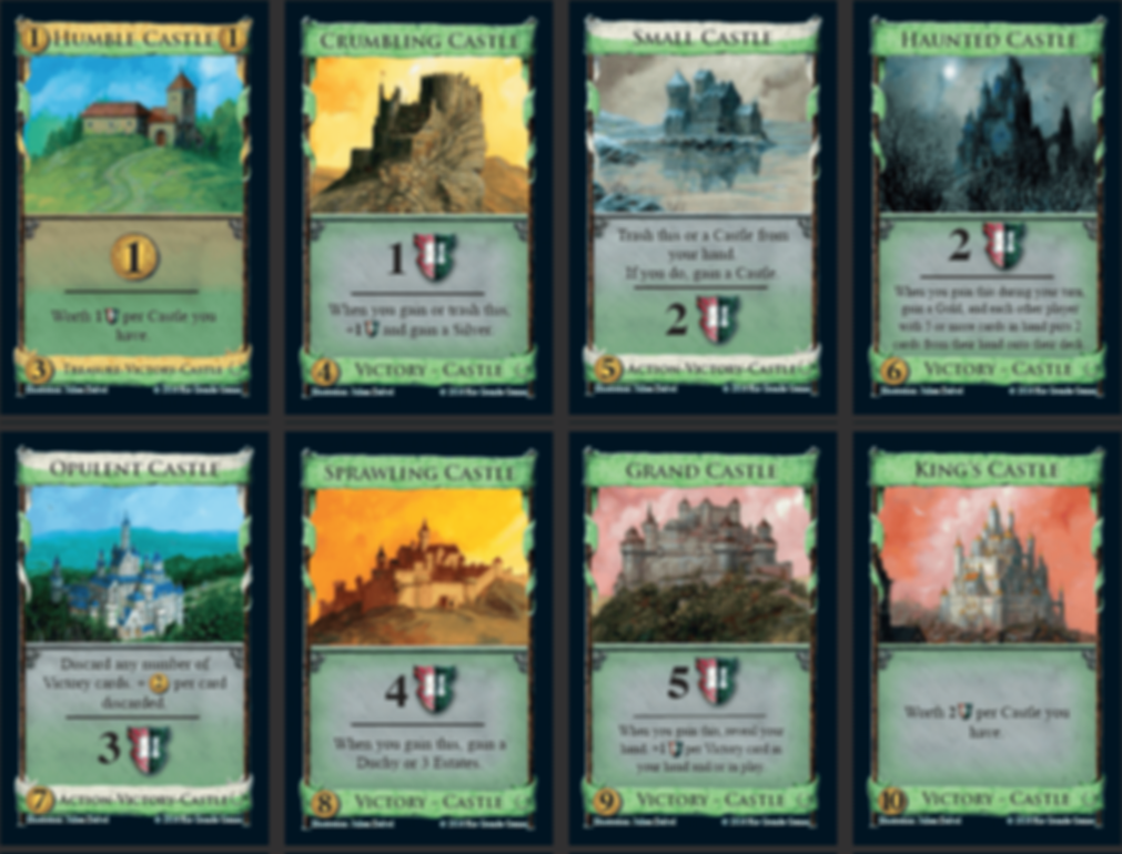Dominion: Empires cards