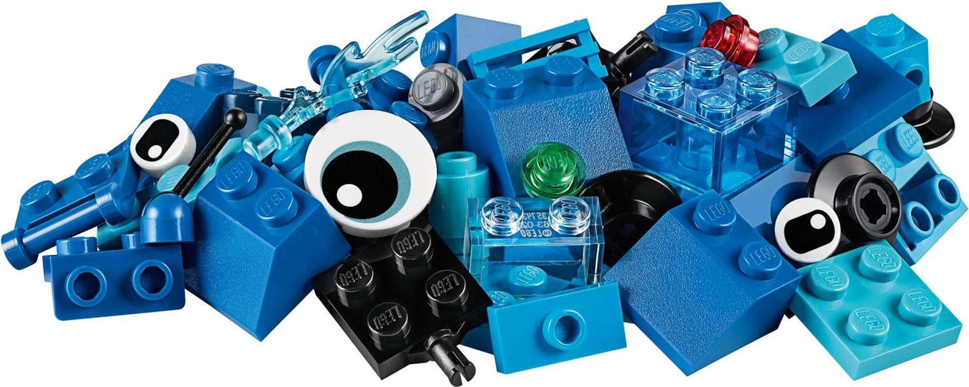 Creative Blue Bricks components