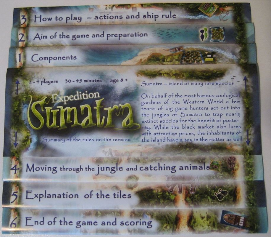Expedition Sumatra manual