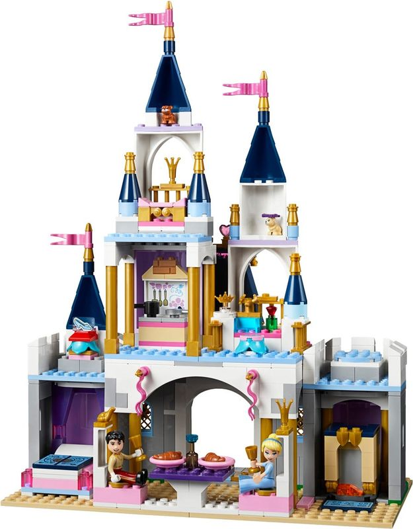 Cinderella's Dream Castle back side