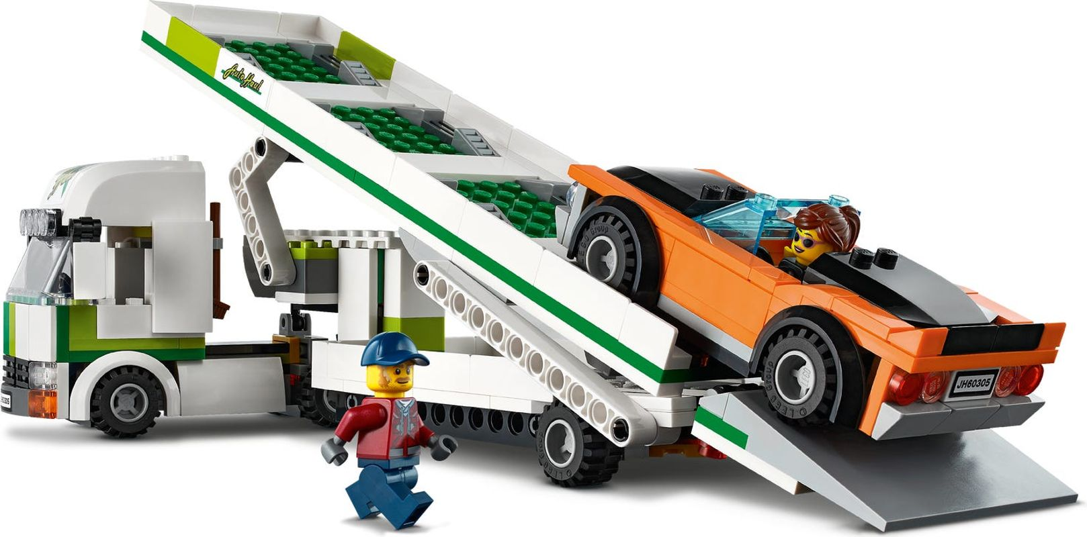 Car Transporter gameplay