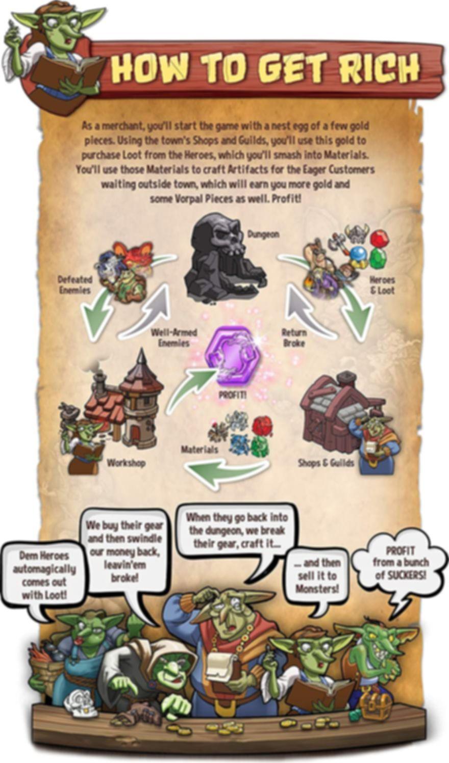 Heroes Welcome: Kickbacks Expansion manual