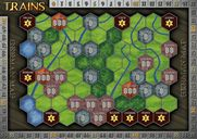 Trains: Map Pack 1 - Germany/Northeastern USA game board