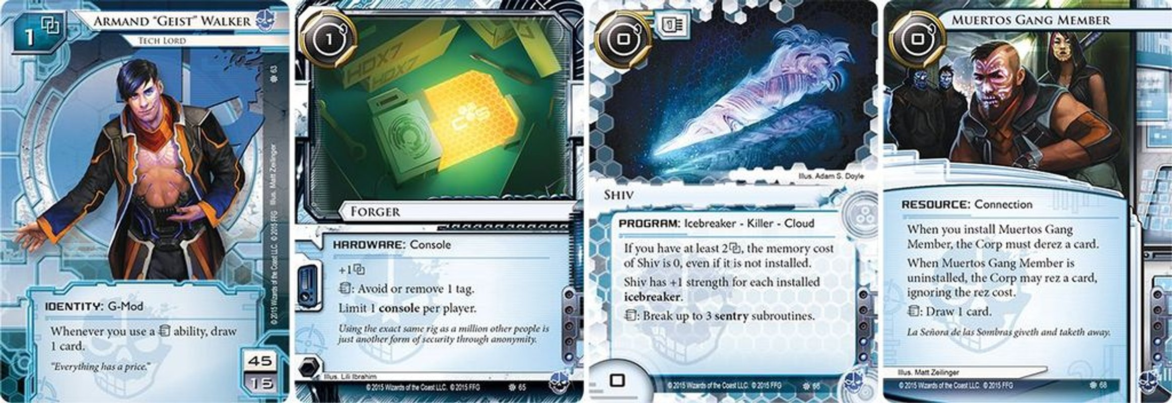 Android: Netrunner - The Underway cards