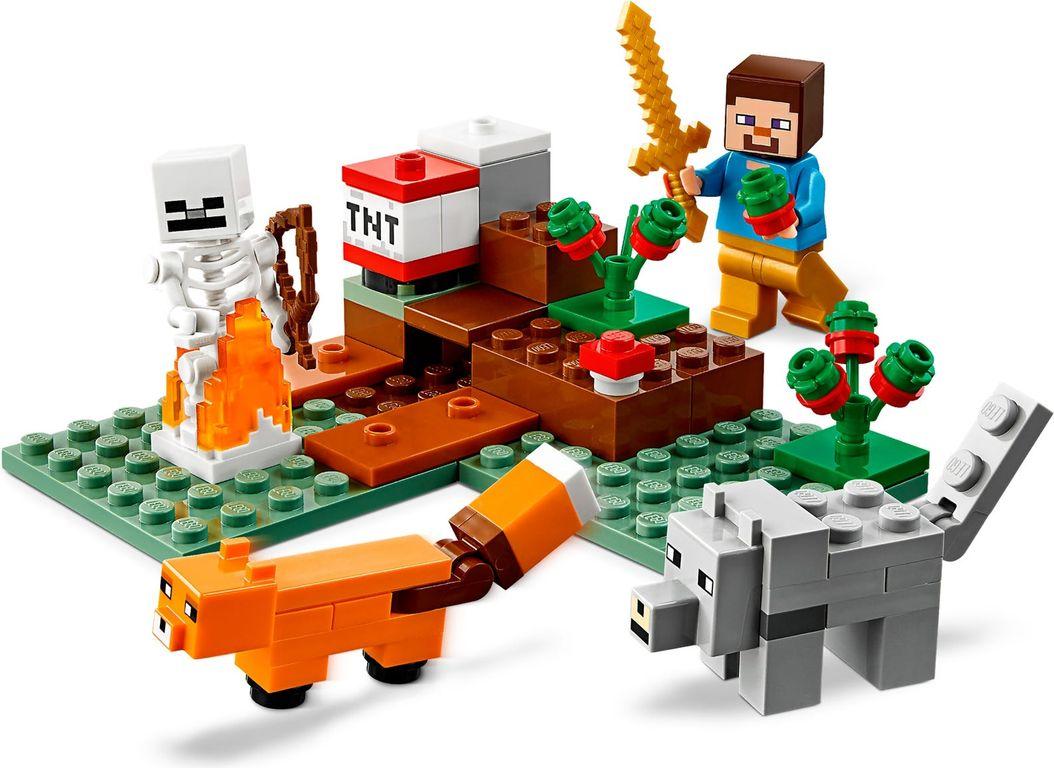 The Taiga Adventure minifigures