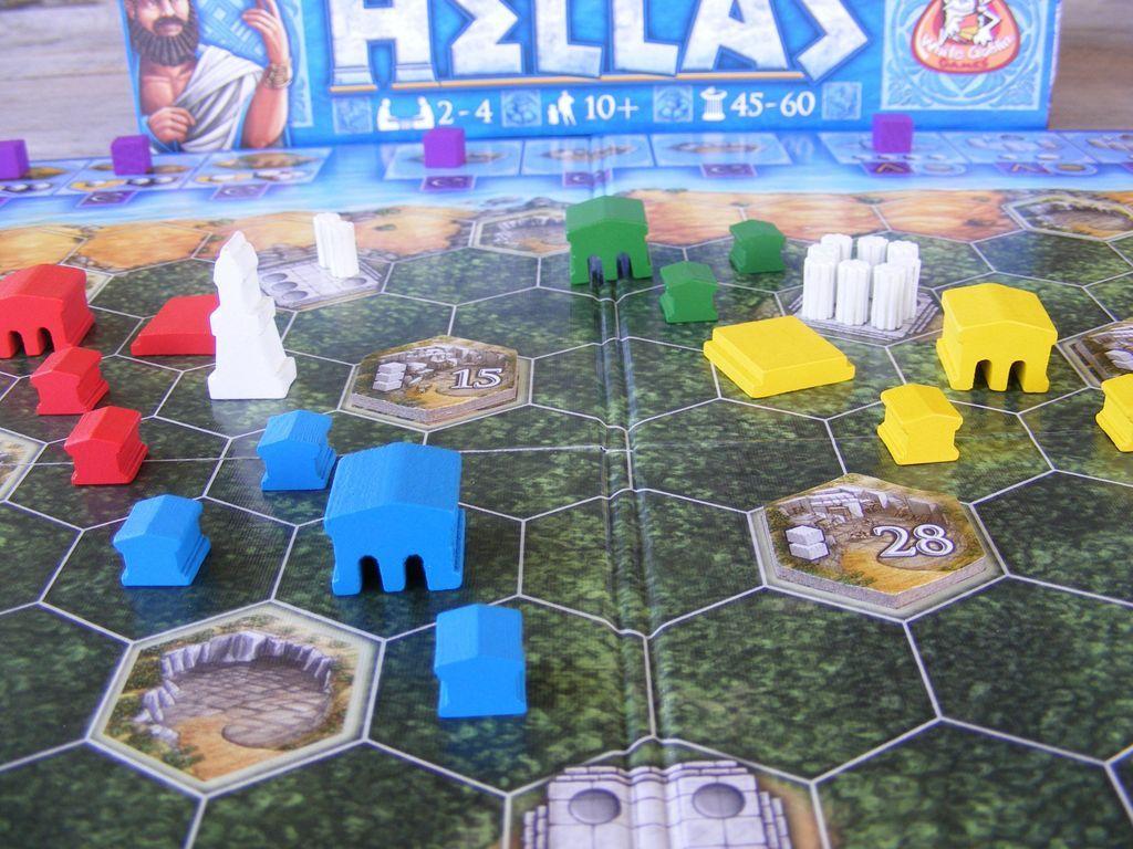 Hellas components