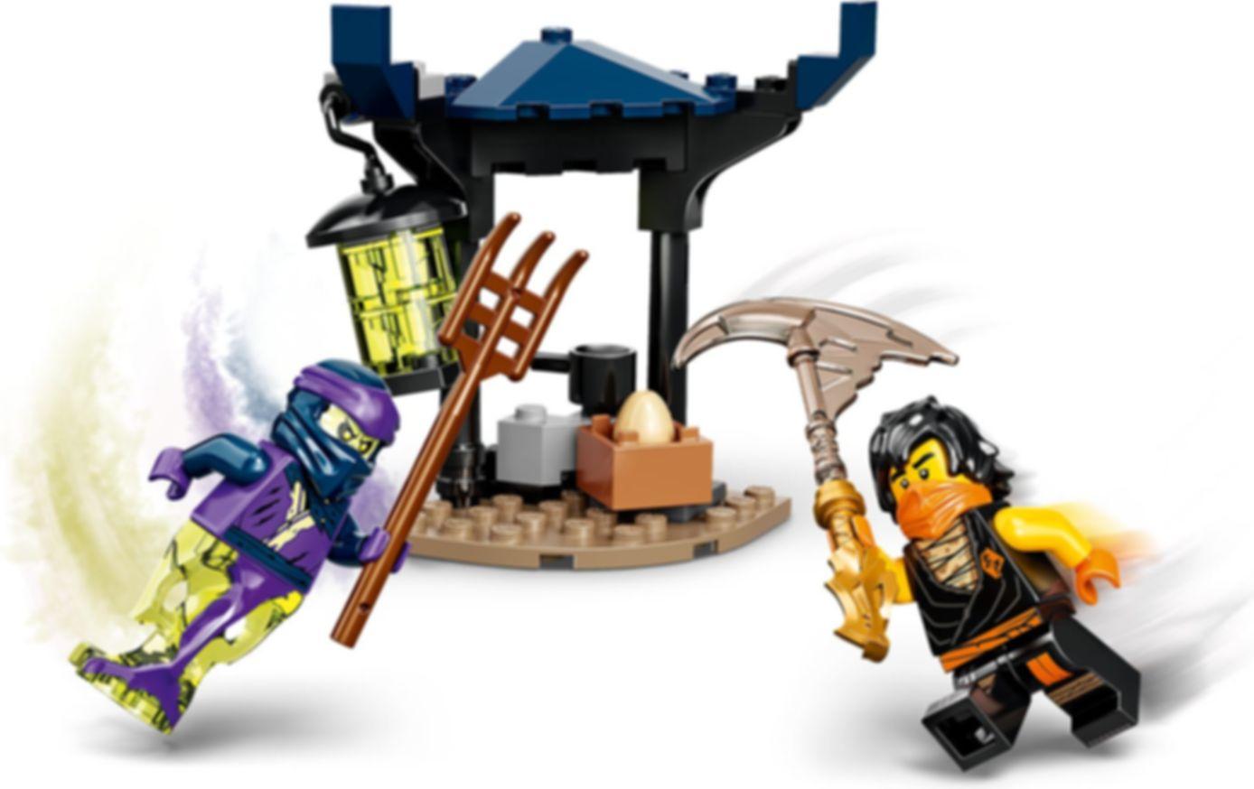 LEGO® Ninjago Epic Battle Set - Cole vs. Ghost Warrior gameplay