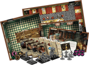 Mansions of Madness: Second Edition - Streets of Arkham components