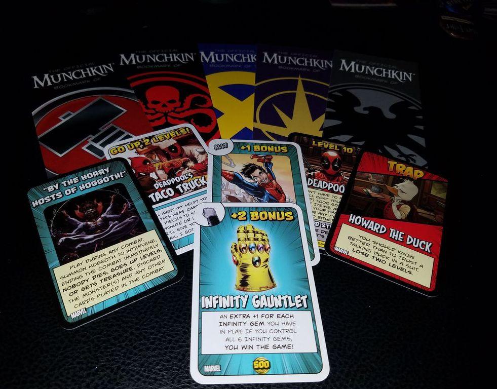 Munchkin Marvel cards