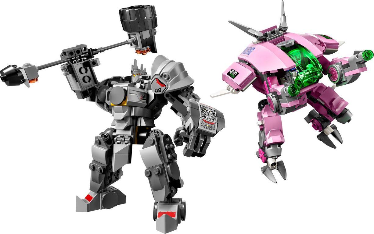 LEGO® Overwatch D.Va & Reinhardt components