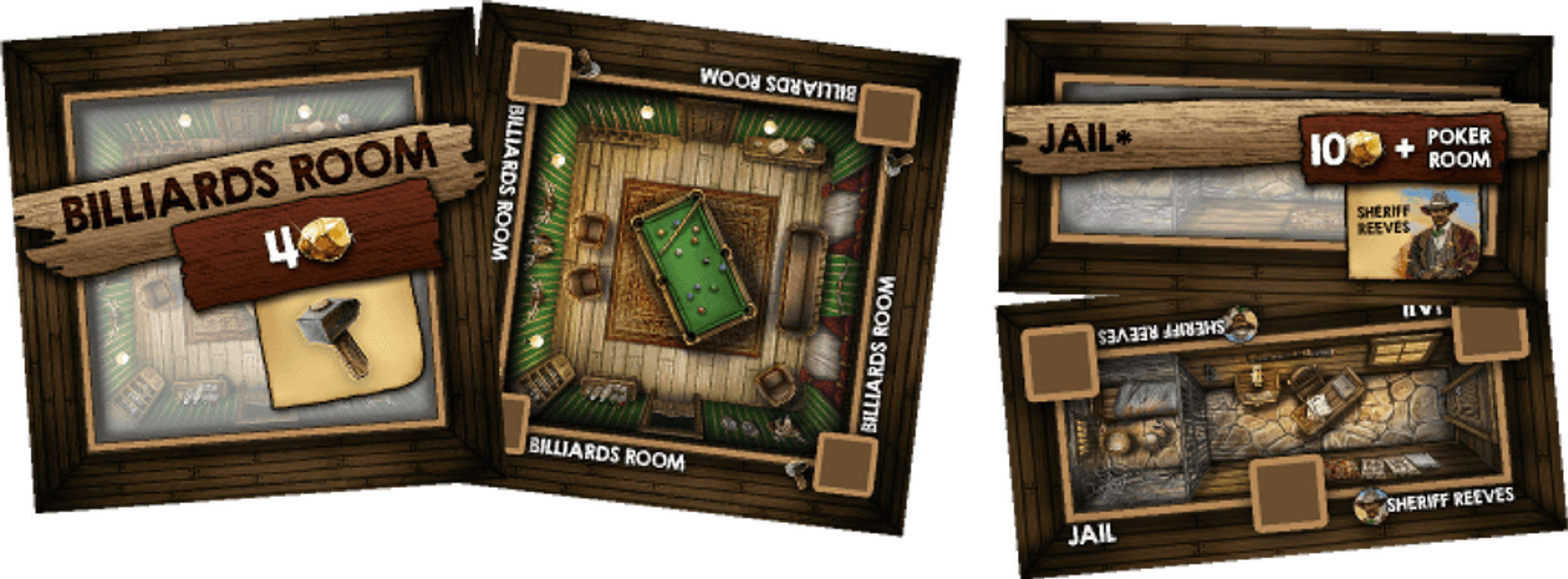 Saloon Tycoon cards
