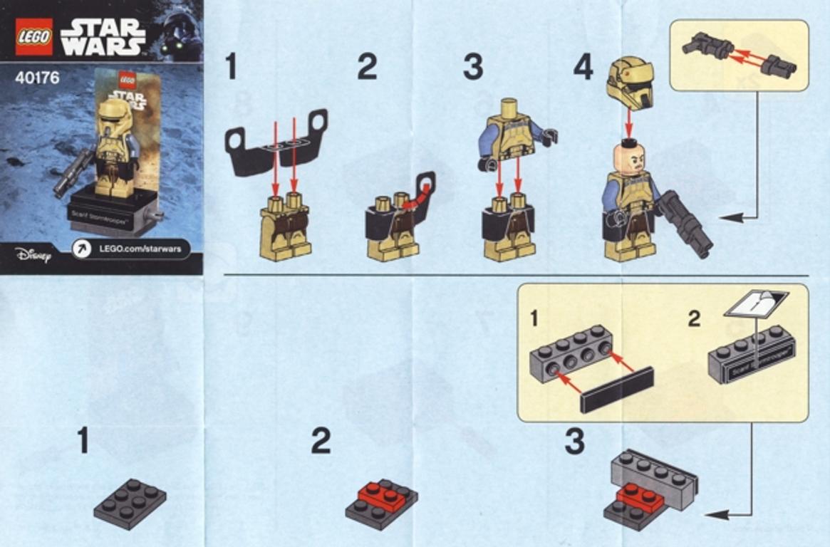 LEGO® Star Wars Scarif Stormtrooper Polybag manual
