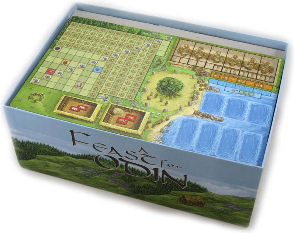 A Feast for Odin: Folded Space Insert box