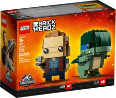 LEGO® BrickHeadz™ Owen & Blue