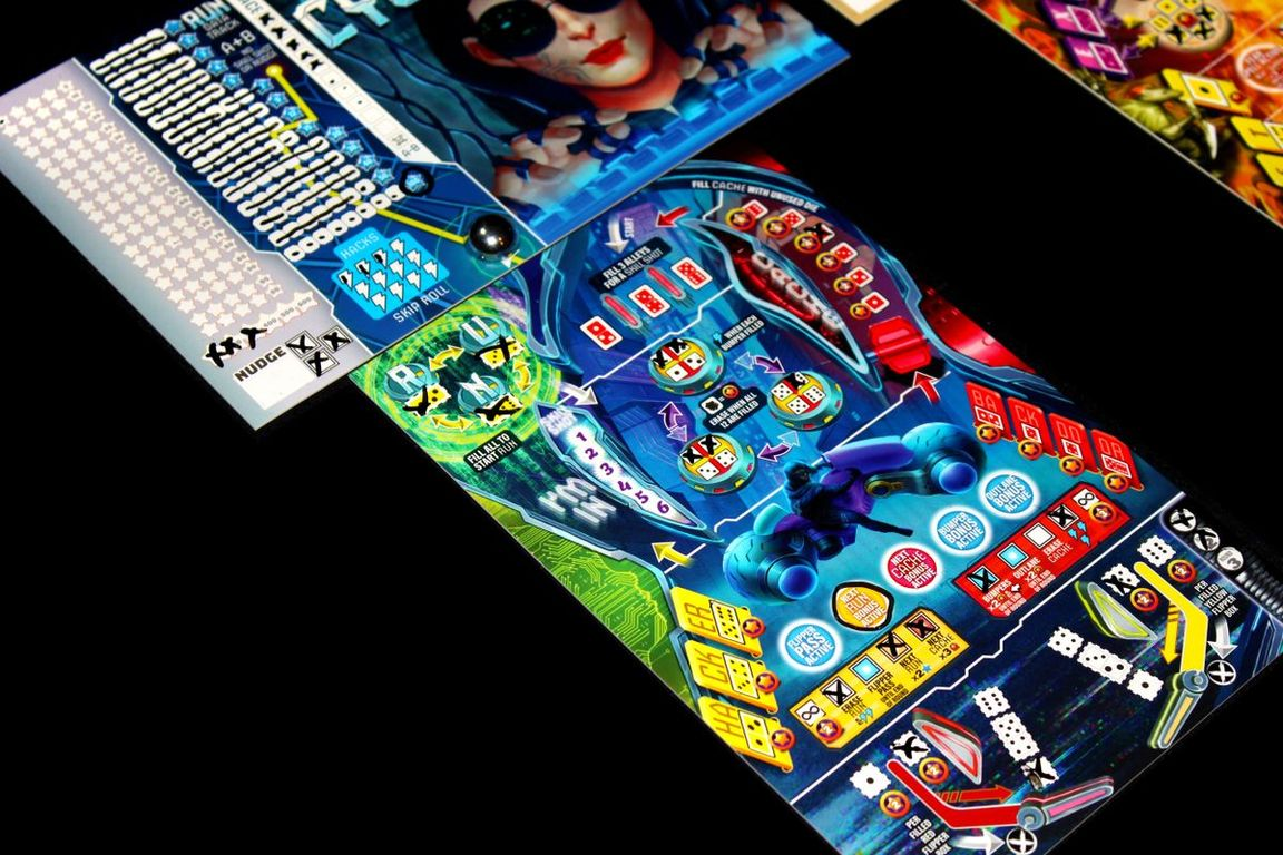 Super-Skill Pinball: 4-Cade gameplay