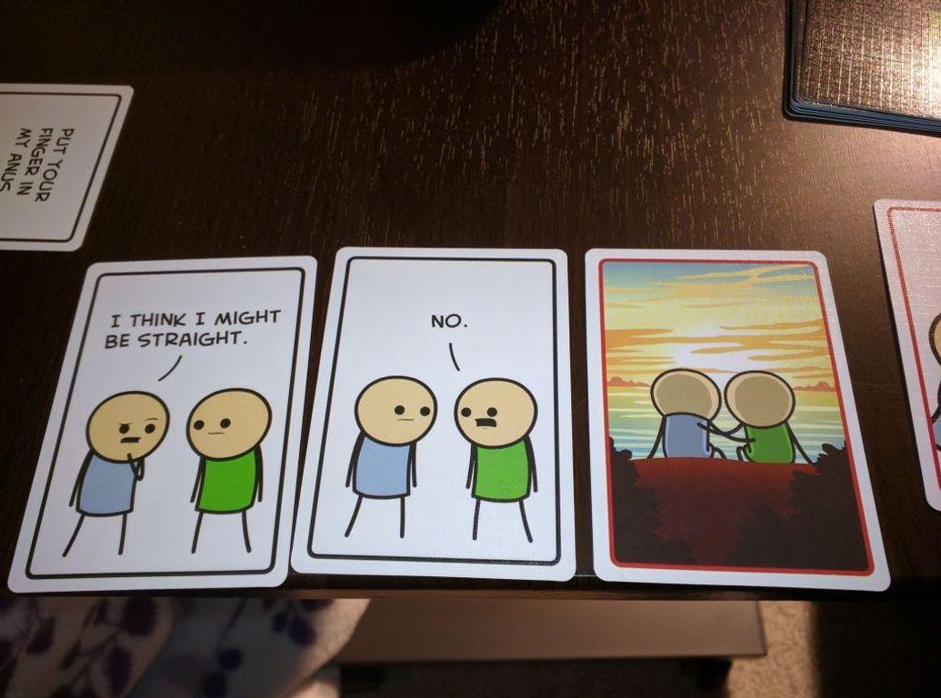 Joking Hazard cards