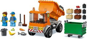 LEGO® City Garbage Truck components