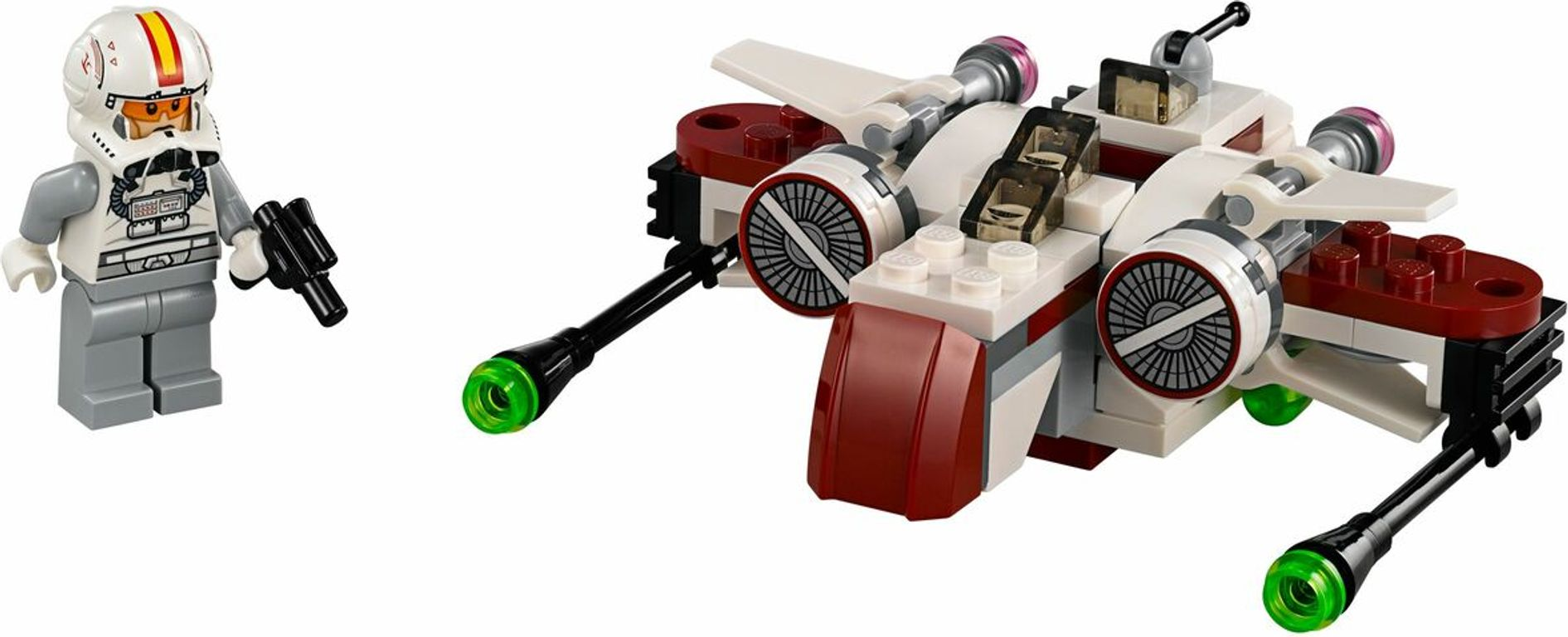 LEGO® Star Wars ARC-170 Starfighter components