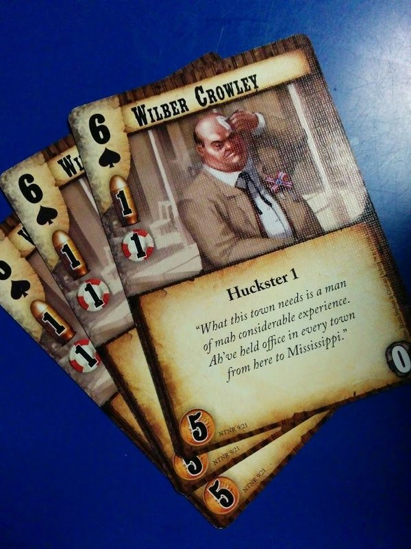 Doomtown: Reloaded - New Town, New Rules cards