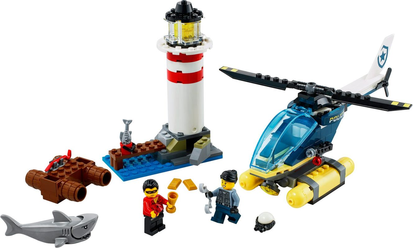 Police Lighthouse Capture components