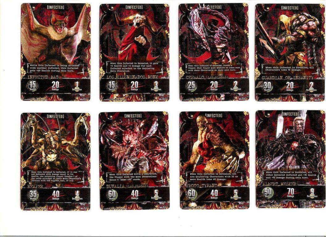 Resident Evil Deck Building Game: Alliance cards