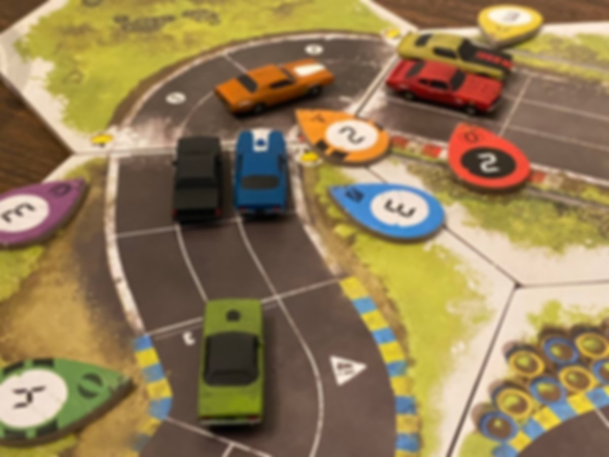 Rallyman: GT speelwijze