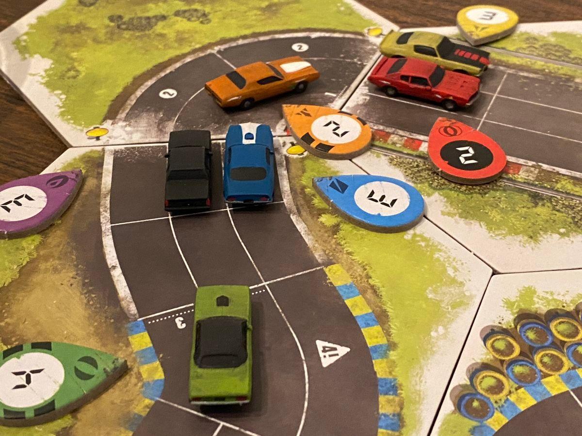 Rallyman: GT gameplay