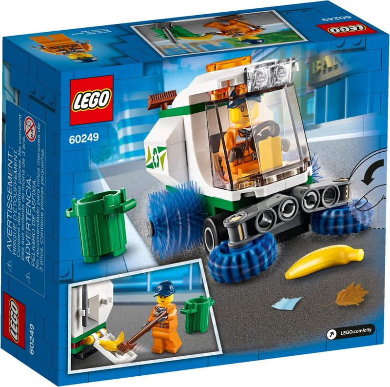 LEGO® City Street Sweeper back of the box
