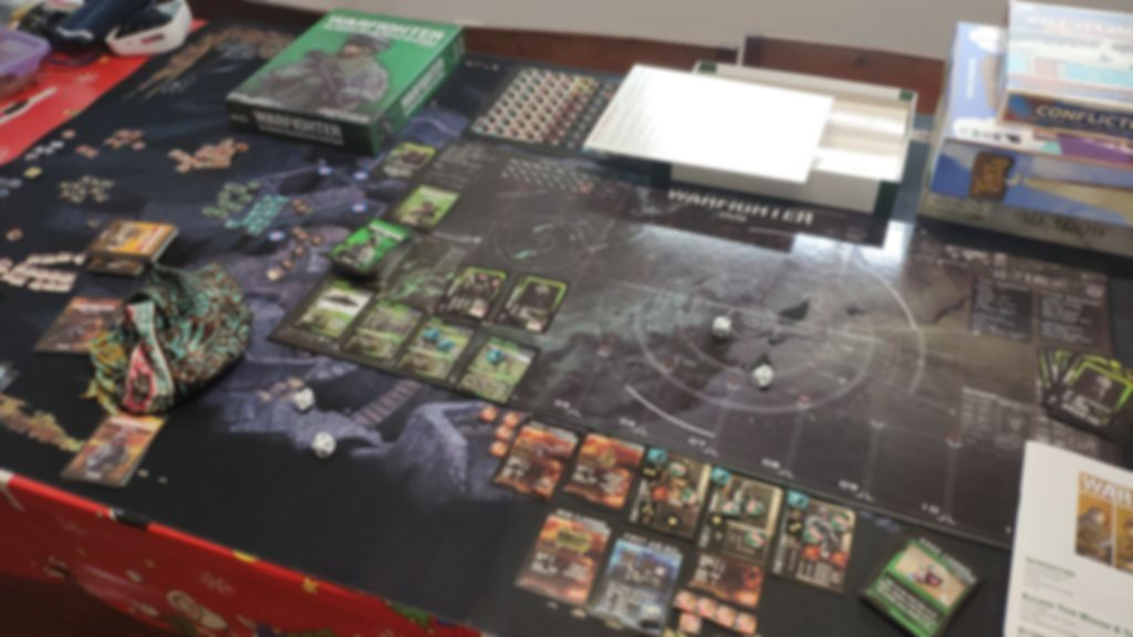 Warfighter: The Tactical Special Forces Card Game gameplay