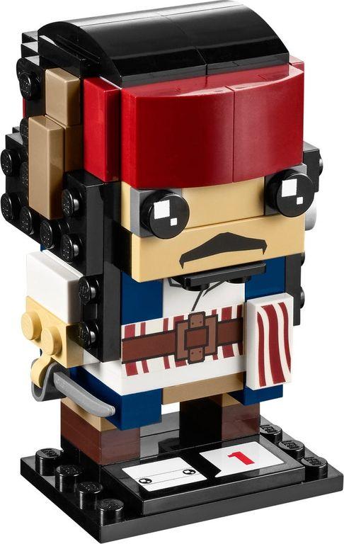 LEGO® BrickHeadz™ Captain Jack Sparrow components